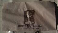 Ham's Store Napkin
