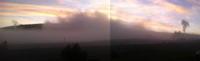 Fog over Geyser Hill