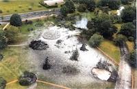 Kuirau Park, 2001 January 26 after eruption of S-721